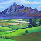 Beautiful Mt Barney  by Virginia McGowan