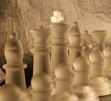 Chess Close up by Anina Arnott