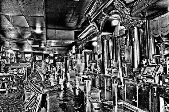 Tony's Bar Dallas Oregon by pdsfotoart