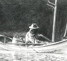 Man Rowing by Ahren Clasohm
