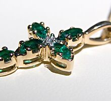 Emerald Cross by Doug Greenwald