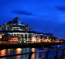 Blue Dublin by Alan Wright
