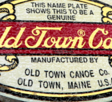 Old Town Canoe Sticker