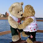 Kissing bears by Colleen Sattler