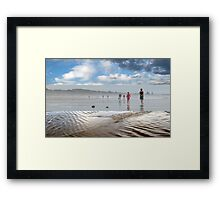 A Break in the Weather - Triptych Framed Print