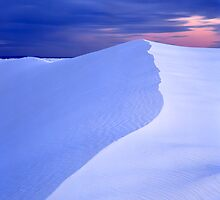 White Sands Evening by Mike Norton