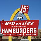 1st McDonald's in Des Plaines, Illinois by Susan Russell