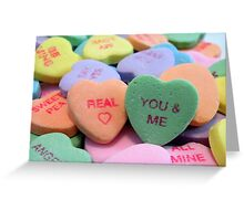 You & Me Greeting Card