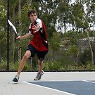 David Playing Tennis #2 by Seone Harris-Nair