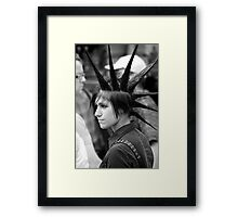 your point is? Framed Print