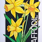 Yellow Daffodil by J.D. Bowman