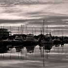 Glenelg Marina - South Australia by Lucia Baldini