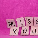 Miss You Card by urmysunshine