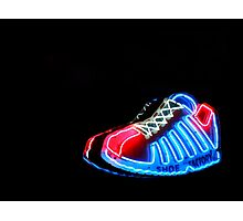 Neon Extravaganza Part Three : These Shoes Were (Not) Meant For Walking Photographic Print