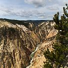 The Grand Canyon of the Yellowstone River by Chesil