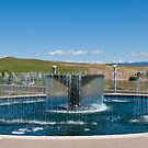 Napa Valley Fountain by Nickolay Stanev