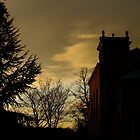 Church at sunset by Themis