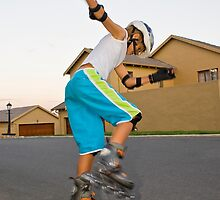 Afternoon Rollerblading Session by RatManDude
