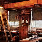 Woodworker - Old Workshop by Mike  Savad