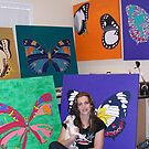 my butterflies :) by Trudi Hipworth