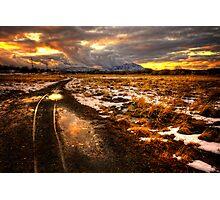 Follow the Tracks Photographic Print