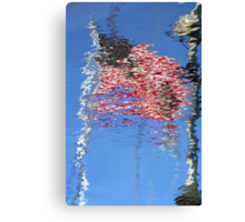 Reflecting Our Flag Canvas Print