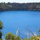 """The Blue Lake"" by Sue  Fellows"