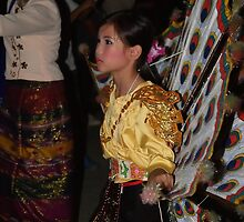 Shan girl in parade by fabianfred