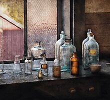 Chemist - Bottles by Mike  Savad