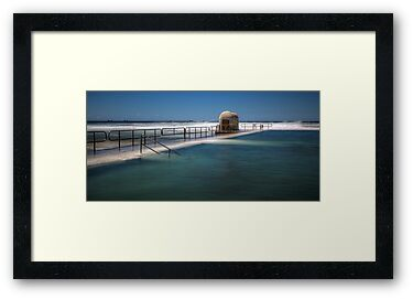 "Merewether Baths, Newcastle - ""Rough Seas"" by Stephen Greaves"