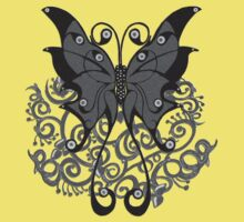 Grey Butterfly by Shelagh Linton