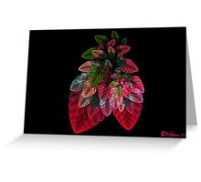 Sinus Bubble Strawberries Greeting Card