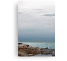 Silver sea, Finestrat Canvas Print
