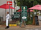 Waiter waiting by awefaul