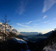 Dolomiti the Italian Alps by Elena Martinello