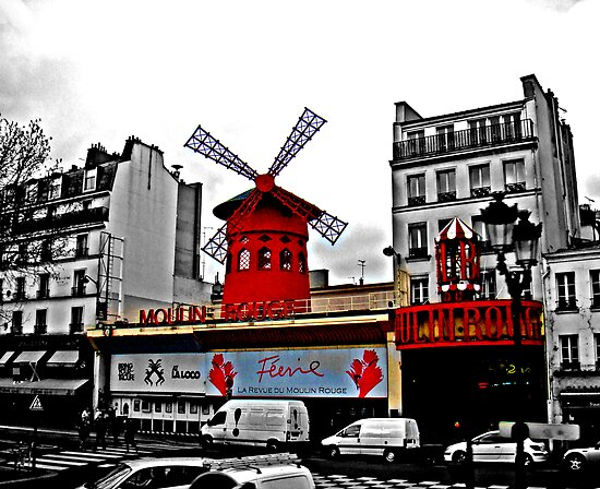 Moulin Rouge by Al Bourassa