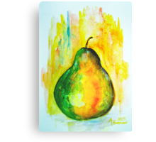 Tender & Easily Bruised Canvas Print