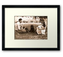 The New Addition Framed Print
