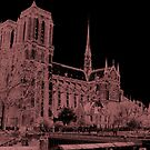 Notre Dame, Paris by Al Bourassa