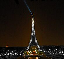 Tour Eiffel V by Al Bourassa