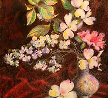 Still Life of Stolen Flowers by Bill Meeker