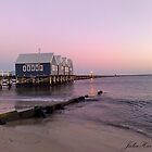 Busselton Jetty at Dawn by Julia Harwood