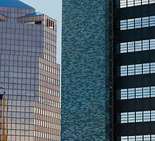 Towers in Downtown Tucson by J Eric Fergason