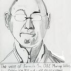 The Voice of Formula One, Murray Walker by Cammo119