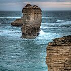 Limestone Stack • Victoria by William Bullimore