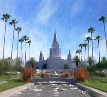 Oakland Temple No. 1 by Geoffrey C Lewis