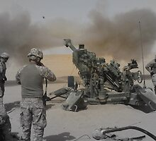 M777 Howitzer by Chad Chastain