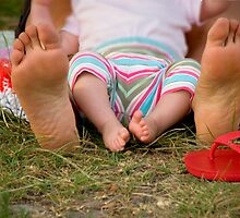 Little Feet by Samantha Van Stralendorff