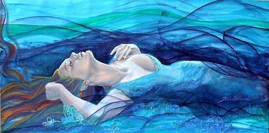"Ethereal thoughts - from ""Whispers"" series by dorina costras"