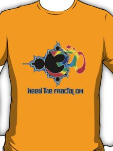 Heed The Fractal Om T-Shirt